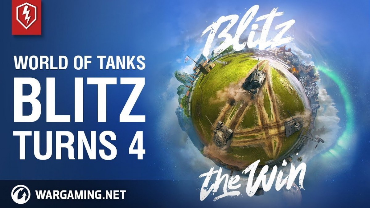 World of Tanks Blitz – Fourth birthday, 100 million