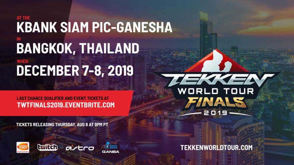 2019 Tekken World Tour Finals Info Gamegnome Com Fantasy Sports Leagues
