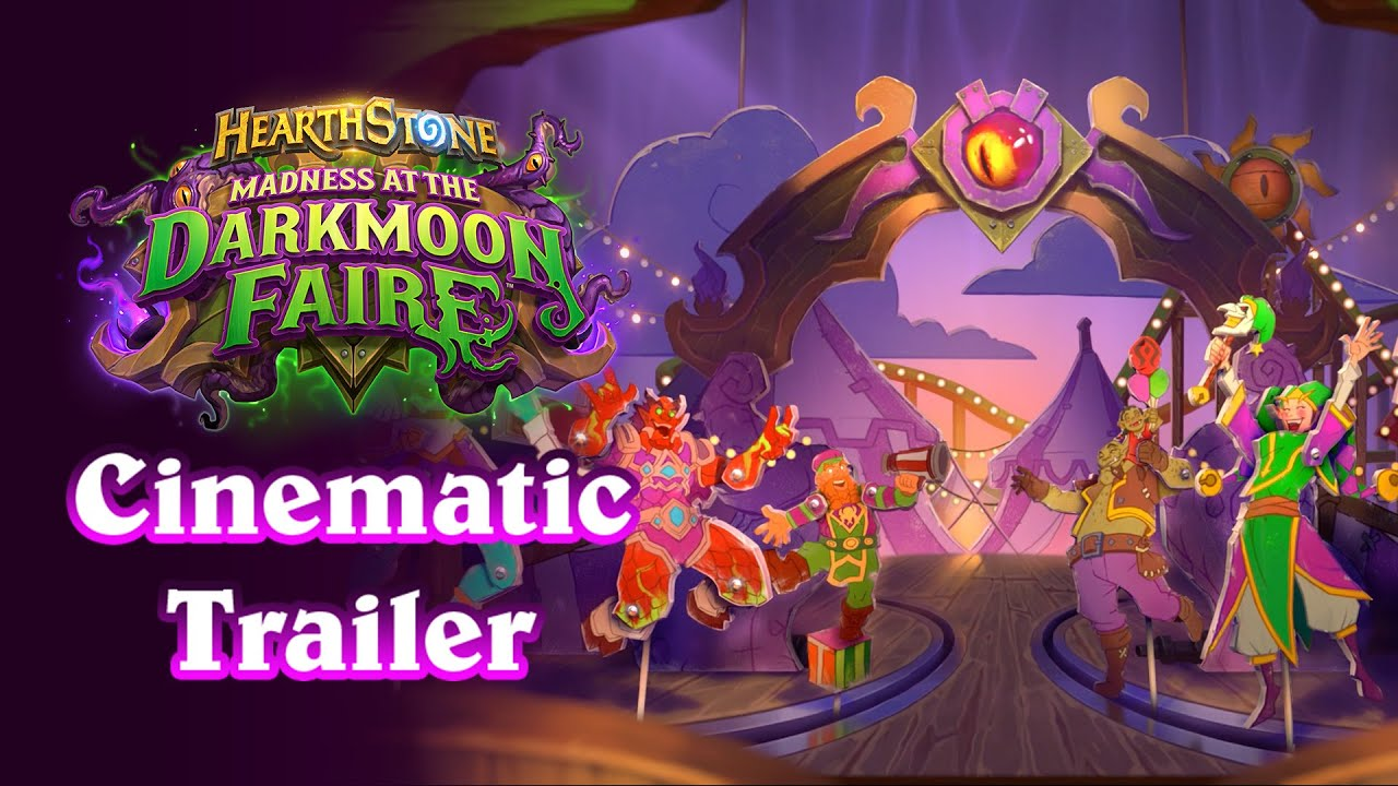 Hearthstone Madness At The Darkmoon Faire On November 17th Gamegnome Com Fantasy Sports Leagues The darkmoon faire is now available in hearthstone battlegrounds and will run through january 18. hearthstone madness at the darkmoon